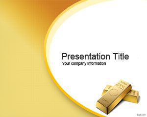 Golden Opportunity PowerPoint Template