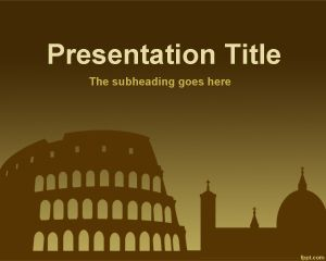 Roma PowerPoint Template