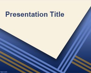 PowerPoint Template Exemple