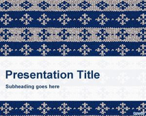 Knitted PowerPoint Template