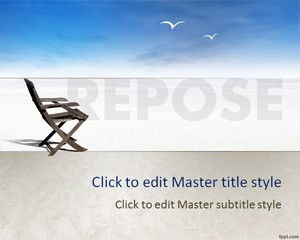 Free Repose PowerPoint Template