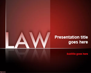 Law Firm Powerpoint-Vorlage