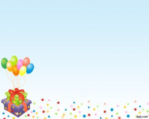 Birthday Balloons PowerPoint Template