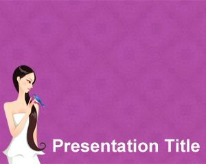 Woman Health PowerPoint Template Brainy