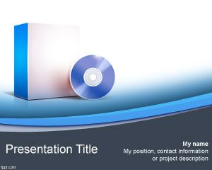 Computer Software PowerPoint Template