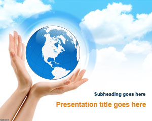 Earth Enviroment PowerPoint Template