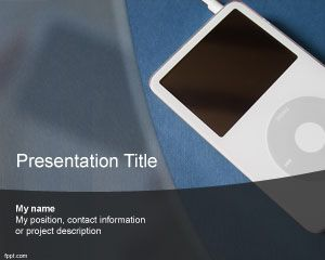 Gadget PowerPoint Template