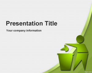 Global Environmental Recycling PowerPoint Template