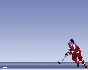 Sport Hockey PowerPoint Template
