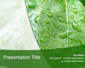 Natural Sciences PowerPoint Template