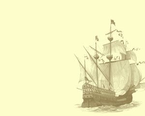 Ancient Ship Powerpoint Templates