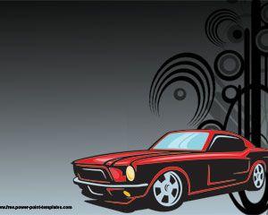 Hot Car Powerpoint-Vorlage PowerPoint Vorlagen kostenloser Download