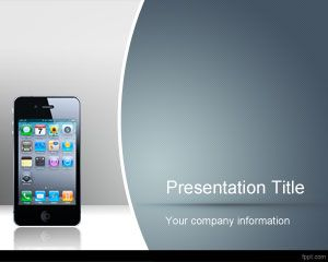 Touchscreen PowerPoint Template