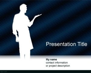 Another Presenter PowerPoint Template
