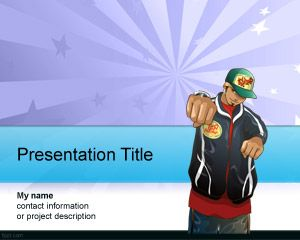 Subculture PowerPoint Template