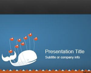 Twitter PowerPoint Template