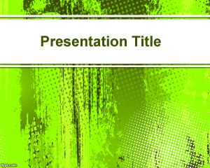 Bright Green Powerpoint-Hintergrund