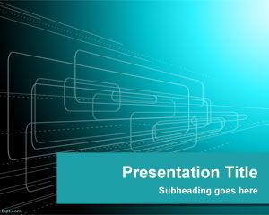 Shapes Technology PowerPoint Template