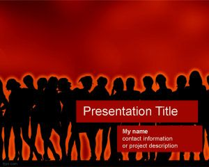Template Ladies Night PowerPoint
