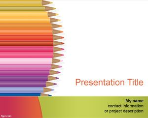 Kindergarten PowerPoint Template