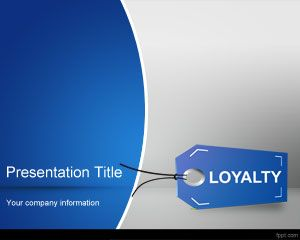 Brand Loyalty PowerPoint Template