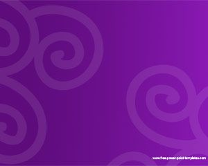 Violet PowerPoint Template