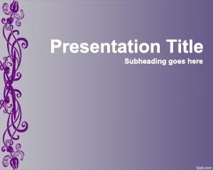 Chic PowerPoint Template