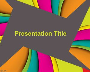 Free Color PowerPoint Template for Presentations