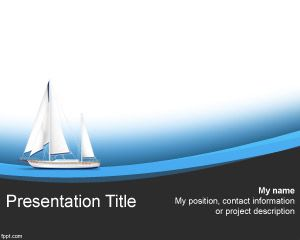 Format Sailing barca PowerPoint
