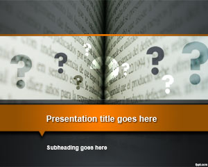Pages PowerPoint Template