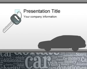 Donate My Car PowerPoint Template