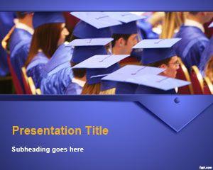 Graduation Ceremony PowerPoint Template