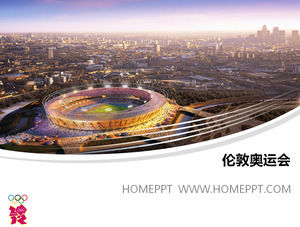 London powerpoint free download 2012 london olympic games main stadium ppt template download toneelgroepblik Images
