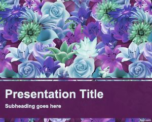 Flower Garden PowerPoint Template
