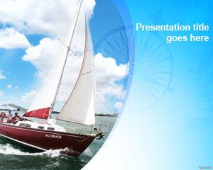 Template PowerPoint Yacht