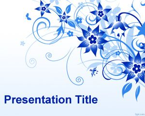Flower PowerPoint Presentation Template