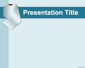 Toilet Paper PowerPoint Template