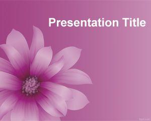 Purple flower powerpoint template powerpoint templates free download purple flower powerpoint template toneelgroepblik Images