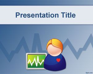 Health Monitor PowerPoint Template