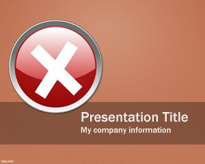 Cancel PowerPoint Template