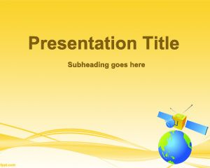 Satellite PowerPoint Template