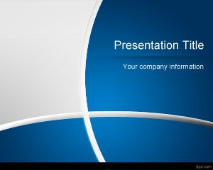 Template Dark Blue Gerente de PowerPoint
