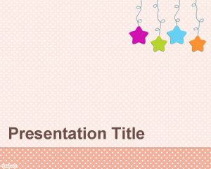 Baby Mobile PowerPoint Template