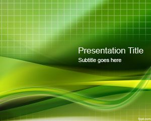 Format Green Grid PowerPoint