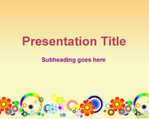 Spring Flower PowerPoint Template