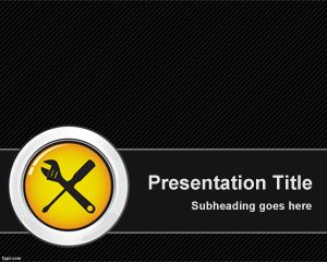 Maintenance PowerPoint Template