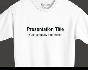 tシャツのpowerpointのテンプレート powerpointテンプレート無料ダウンロード