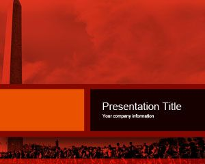 Smettere di Kony PowerPoint Template