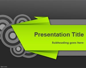 Kirigami PowerPoint Template