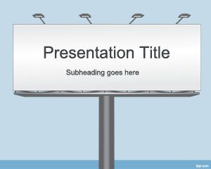 Billboard PowerPoint Template